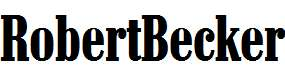 RobertBecker-Bold
