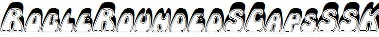 RobleRoundedSCapsSSK-Italic