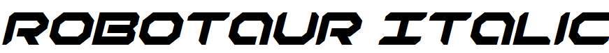 Robotaur-Italic