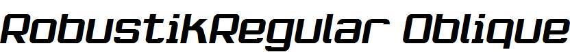 RobustikRegular-Oblique