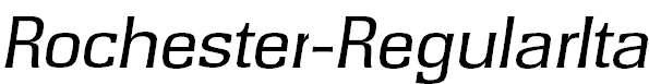 Rochester-RegularIta