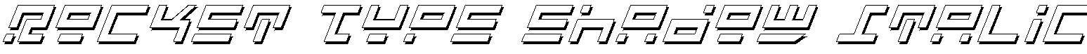 Rocket-Type-Shadow-Italic