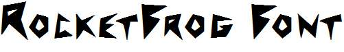 RocketFrog-Font