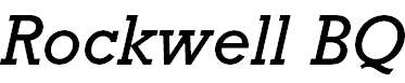 RockwellBQ-Italic