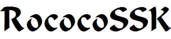 RococoSSK-Regular
