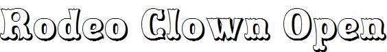 Rodeo-Clown-Open