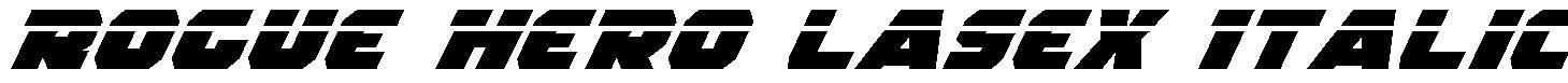 Rogue-Hero-LasEx-Italic
