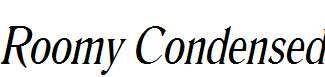 Roomy-Condensed-Italic