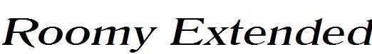 Roomy-Extended-Italic
