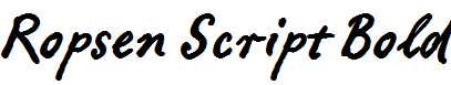 Ropsen-Script-Bold