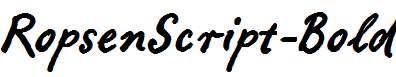 RopsenScript-Bold