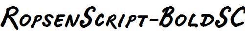 RopsenScript-BoldSC