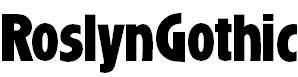 RoslynGothic-Bold