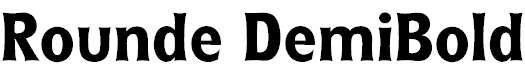 Rounde-DemiBold
