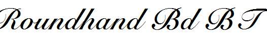 Roundhand-Bold-BT