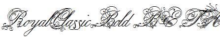 RoyalClassicBold-BETA