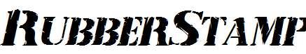 RubberStamp-Italic