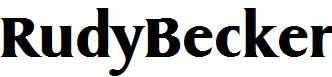 RudyBecker-Bold