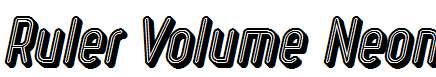 Ruler-Volume-Neon