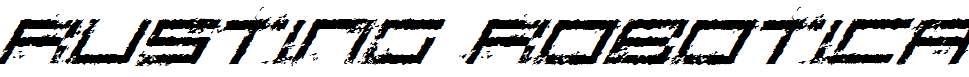 Rusting-Robotica-Italic