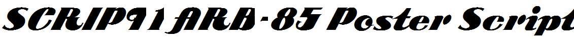 SCRIPT1-ARB-85-Poster-Script-Normal