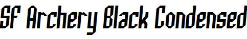 SF-Archery-Black-Condensed-Italic