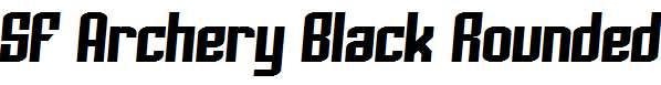 SF-Archery-Black-Rounded-Italic