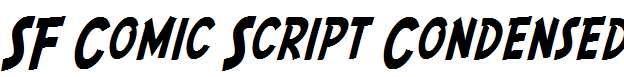 SF-Comic-Script-Condensed