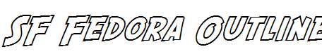 SF-Fedora-Outline