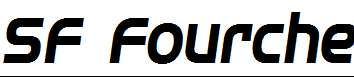 SF-Fourche-Bold-Italic