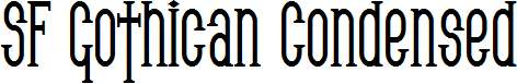 SF-Gothican-Condensed-Bold
