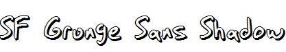 SF-Grunge-Sans-Shadow
