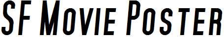 SF-Movie-Poster-Bold-Italic