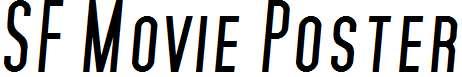 SF-Movie-Poster-Italic
