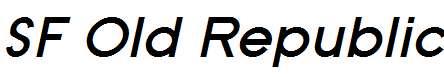 SF-Old-Republic-Bold-Italic