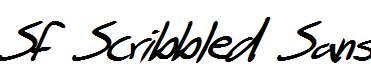 SF-Scribbled-Sans-Bold-Italic