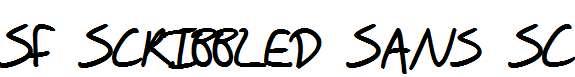 SF-Scribbled-Sans-SC-Bold