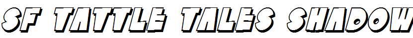 SF-Tattle-Tales-Shadow-Italic