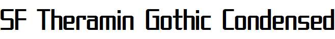 SF-Theramin-Gothic-Condensed