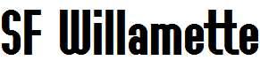 SF-Willamette-Bold