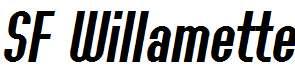 SF-Willamette-Italic