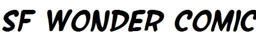SF-Wonder-Comic-Bold-Italic