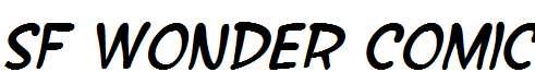 SF-Wonder-Comic-Italic
