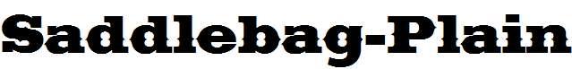 Saddlebag-Plain