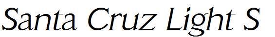 Santa-Cruz-Light-SF-Italic