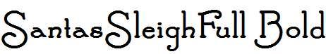 SantasSleighFull-Bold