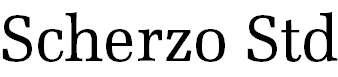 ScherzoStd-Regular