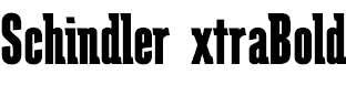 SchindlerExtraBold