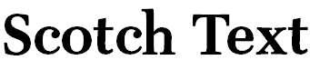 Scotch-TextBold