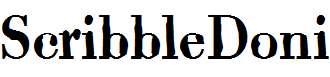 ScribbleDoni-
